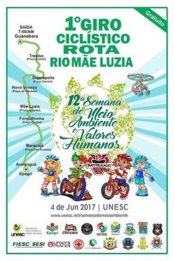 Semana do Meio Ambiente de Siderópolis terá oficina educativa, plantio de mudas e giro ciclístico