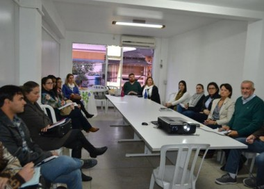 Cocal recebe assessoria em Alimentação e Nutrição do Escolar
