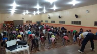 Aulas de ginástica com dança são iniciadas em Urussanga