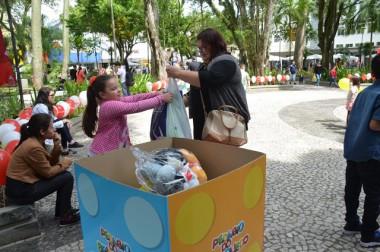 Pedágio arrecada mais de 700 brinquedos para crianças