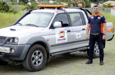 Defesa Civil de Criciúma apresenta o novo coordenador