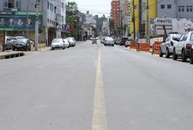 Rua Araranguá será interditada para obras em Criciúma