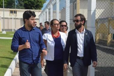 Unidades Prisionais de Criciúma recebem comitiva da Argentina