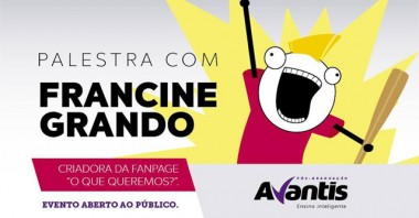 """Criadora do meme """"O que queremos?"""" palestra em Balneário Camboriú"""