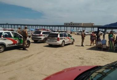 Polícia Militar de Araranguá faz varredura contra som alto