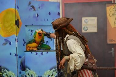 Unesc traz Jack Sparrow para contar sobre suas aventuras no mar