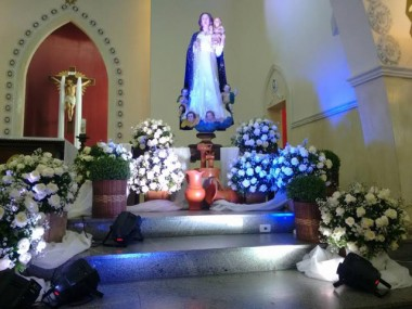 Comunidade de Araranguá celebra padroeira com festa