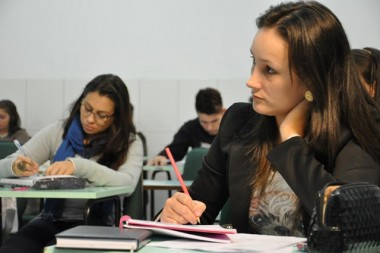 Cursos de pós-graduação com matrículas na Unibave