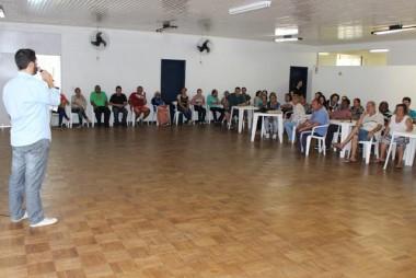 Secretaria de Saúde de Nova Veneza participa de encontro