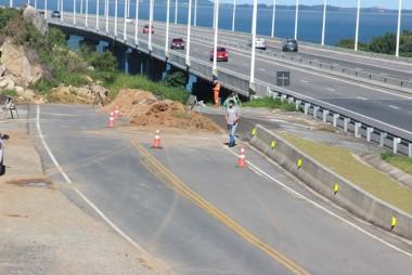 DNIT/SC prepara pista para acréscimo de faixa auxiliar