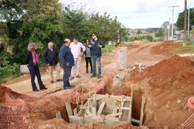Comissão de Obras Públicas de Içara visita Vila Nova