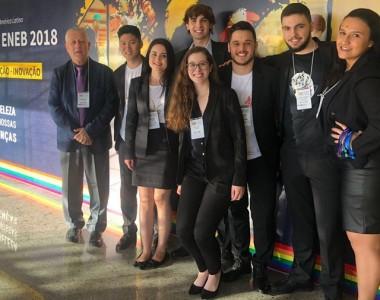 Equipe de alunos da Udesc recebe prêmio nacional