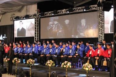 Formatura da Faculdade Satc celebra conquista de acadêmicos