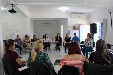 Profissionais participam de capacitação da Rede de Proteção Social