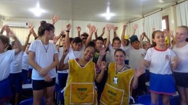 Dengue é tema de palestra em escolas da rede municipal