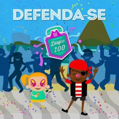 """Campanha """"Defenda-se"""" orienta crianças sobre como ter um carnaval seguro"""