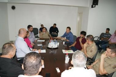 Reunião na Câmara debate segurança pública de Içara