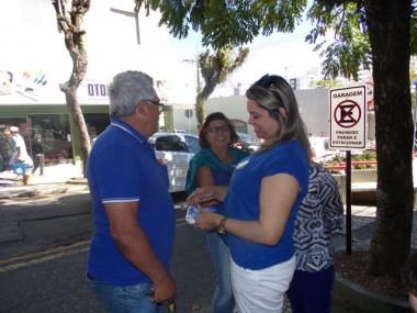 """Dalvania Cardoso intensifica distribuição do plano """"Gestão Já!"""""""