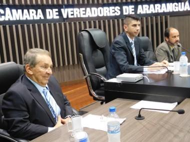 Osmar Nunes recebe homenagem da Câmara de Araranguá