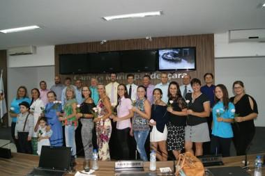 Câmara Municipal de Içara homenageia as mulheres