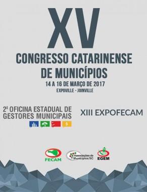 XV Congresso Catarinense de Municípios reunirá gestores para debater desafios