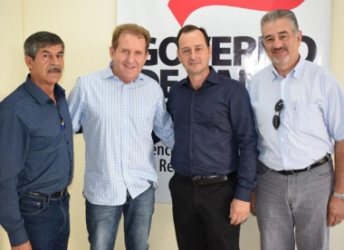Comin anuncia obras para Joaçaba, Campos Novos e Curitibanos