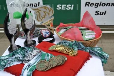 Jogos do Sesi de Verão forão realizados neste final de semana