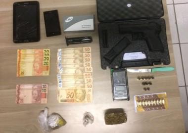 Polícia Civil apreende pistola tcheca e prende dois em Criciúma