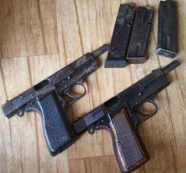 PC apreende mais armas de calibre restrito no Norte da Ilha