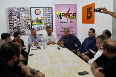 PMDB fortalece projeto majoritário para 2018 no Alto Vale