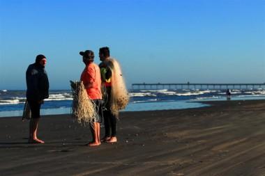 Pescadores garantem fartura na Festa da Tainha em Rincão