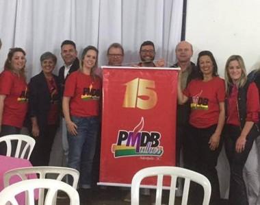 """PMDB faz """"Café com Elas"""" e reúne quase 200 mulheres em Siderópolis"""