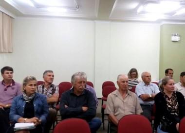 Agronegócio catarinense é debatido em reunião regional