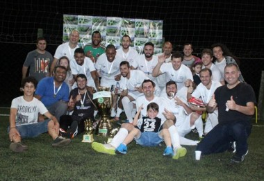 Quarentão conquista a Copa Via Sports Fut7 em Içara