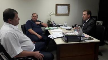 Deputado estadual Valmir Comin recebe vereadores de Itá