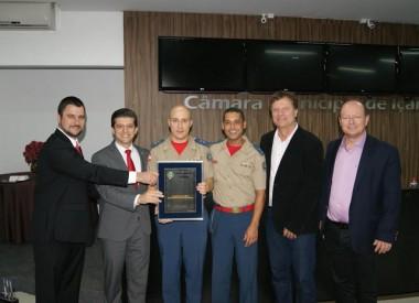 Legislativo homenageia os 15 anos do Corpo de Bombeiros