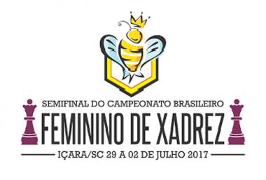 Içara sedia Semifinal do Campeonato Feminino de Xadrez