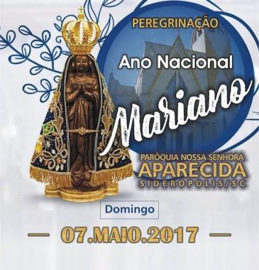 Paróquia de Siderópolis conclama à Peregrinação do Ano Nacional Mariano