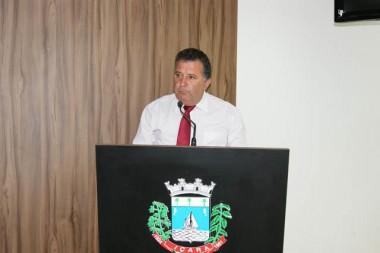 Vereador Calegari requereu licença da Câmara Municipal