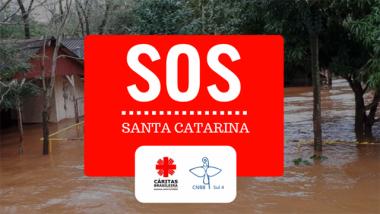 Diocese de Criciúma mobiliza comunidades para campanha SOS SC