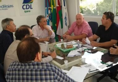 Apenas 12% do comércio de Içara fechará nos jogos do Brasil