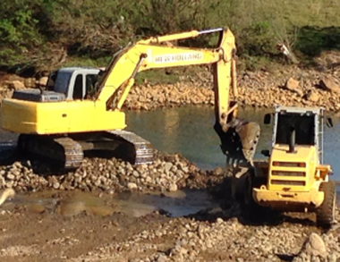 Liminar proíbe extração ilegal de seixos no Rio Tubarão