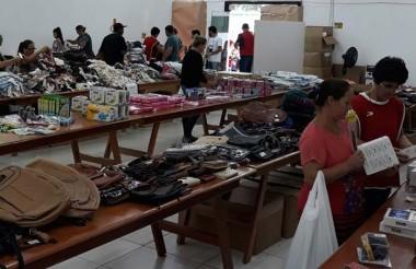 Bazar do Hospital São Donato é concluído no primeiro dia