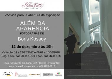 Exposição ''Além da Aparência '' de Boris Kossoy