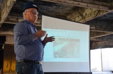 Sinduscon promove encontro na obra do Paço Municipal
