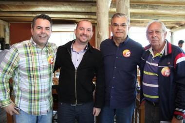 Moreira fortalece candidaturas no Vale do Araranguá