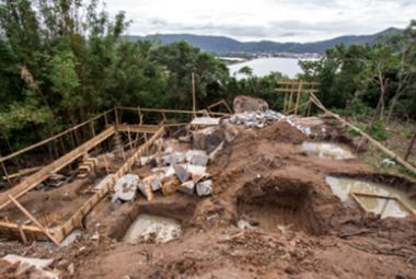 Paralisadas obras em área de preservação de Florianópolis