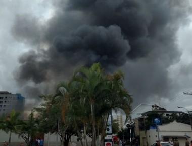 Incêndio em Centro de Içara resulta na morte de trabalhador