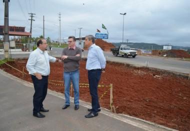 Vice-governador acompanha projetos e obras em Criciúma