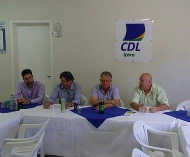 CDL de Içara abre articulação do Observatório Social